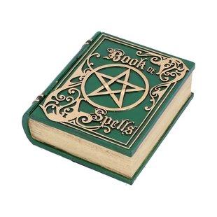 Opbergdoosje Book of Spells groen