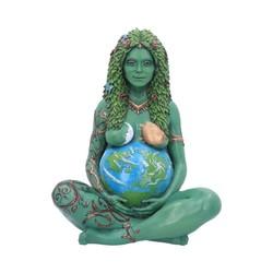 Moeder Aarde kunstbeeldje geverfd 30 cm