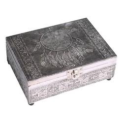 Tarot of sieradendoos met dromenvanger afbeelding
