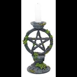 Wicca Pentagram Kandelaar 15cm