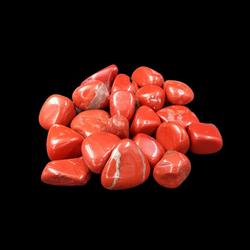 Jaspis Rood M trommelsteen