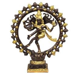 Shiva Nataraj messing 2-kleurig groter