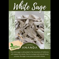 Ananda witte salie 50 gram