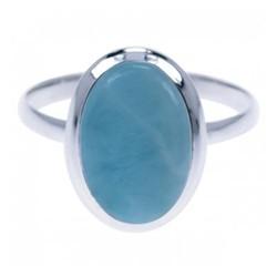 Zilveren ring Larimar