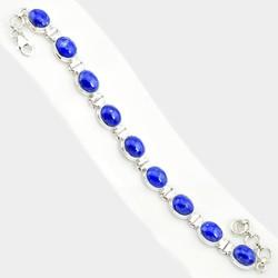 Zilveren armband Lapis Lazuli