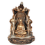 Bronze Boeddha Backflow Wierookhouder