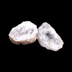 Bergkristal geode 1