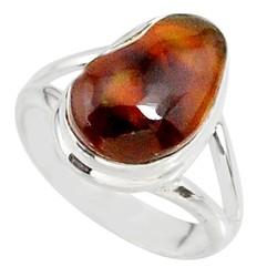 Zilveren ring Vuuragaat