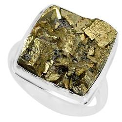 Zilveren ring Pyriet