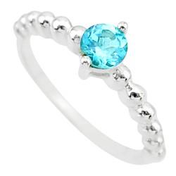 Zilveren ring Topaas