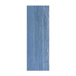 eKO Yogamat - 5mm - 200 cm - Ebb Marbled - Blauw