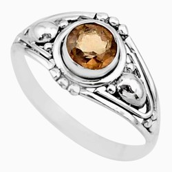Zilveren ring Rooktopaas