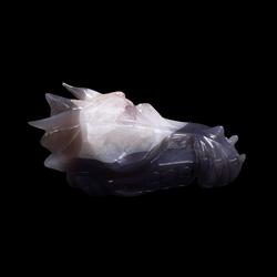 Agaat Drakenschedel 2