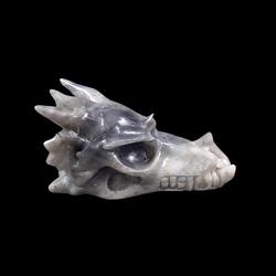Labradoriet Drakenschedel 1