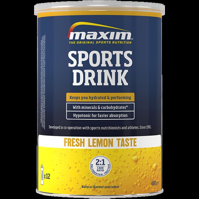 Maxim Sports Drink Fresh Lemon 480g