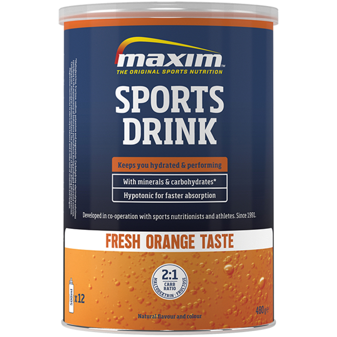 Maxim Sports Drink Fresh Orange