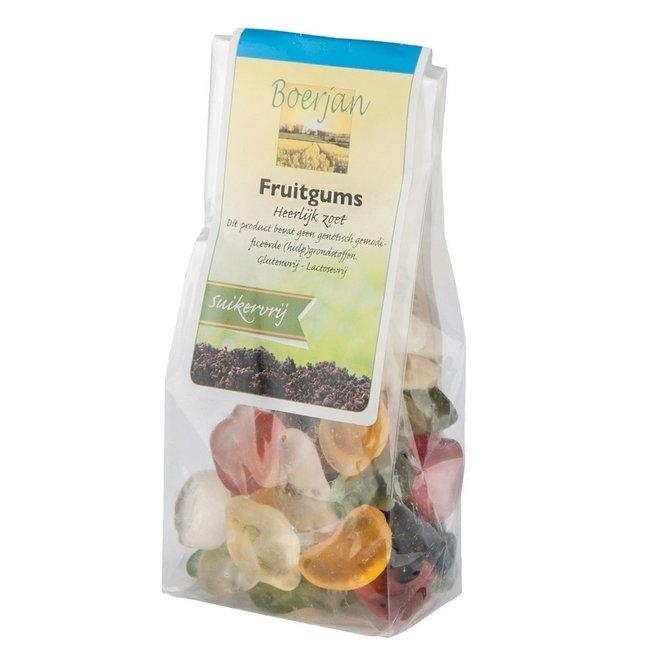 Boerjan Mini Fruitgums Suikervrij