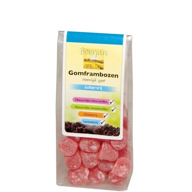 Boerjan Framboos Gum Suikervrij