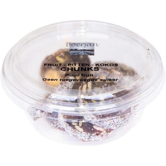 Boerjan Fruit-Pitten-Cocos Chunks