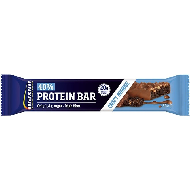 Maxim 40% Protein Bar Crispy Brownie
