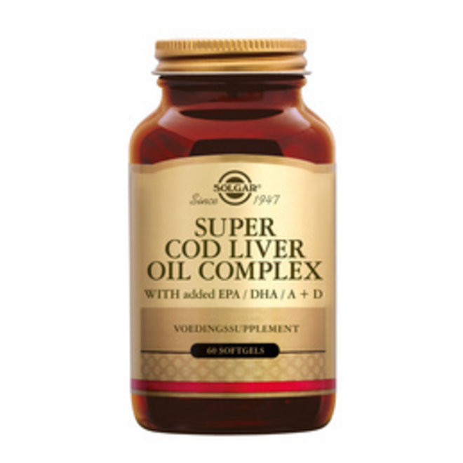 Solgar Vitamins Super Cod Liver oil Comp