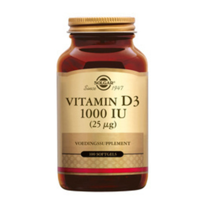 Solgar Vitamins D3 1000ug