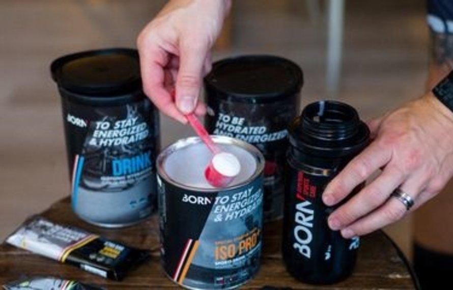 Born sportdranken, ideaal voor energie tijdens het sporten!