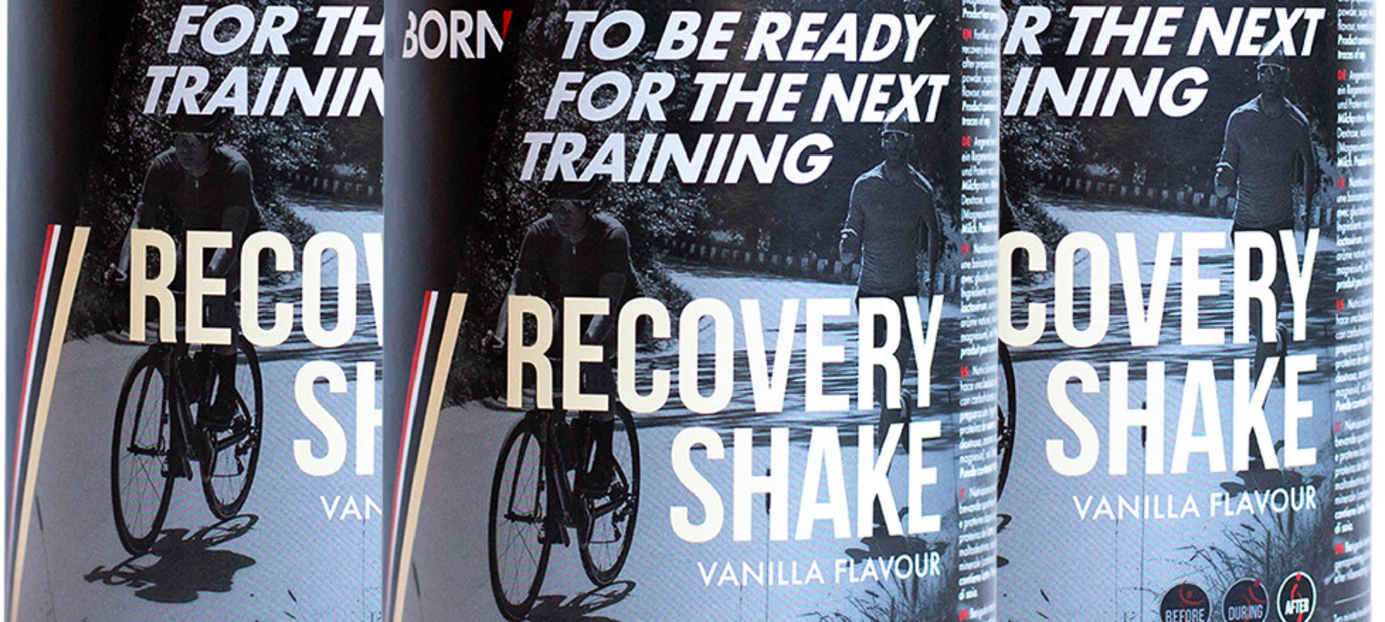 Born hersteldranken, voor optimaal herstel na een zware workout!