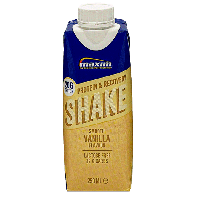 maxim protein en recovery shake vanilla