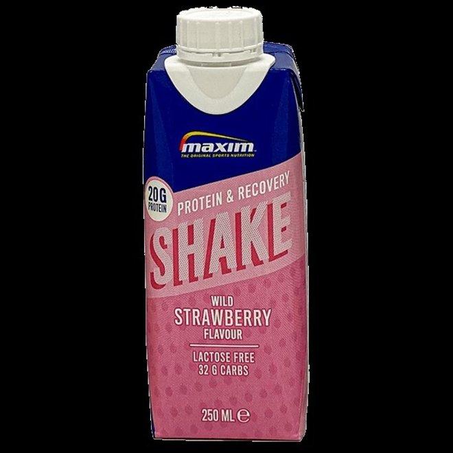 maxim protein en recovery shake  strawberry