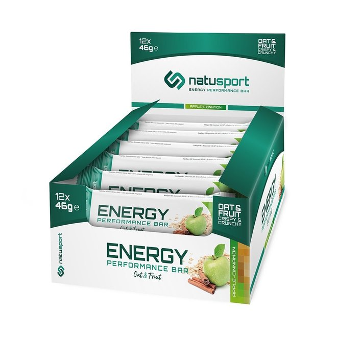 Energy Performance Bar Apple-Cinnamon