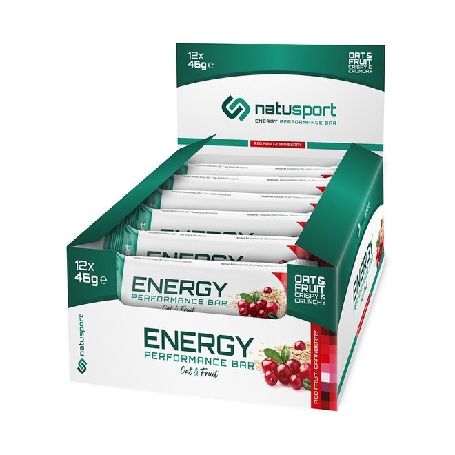 Energy Performance Bar Red Fruit Cranberry