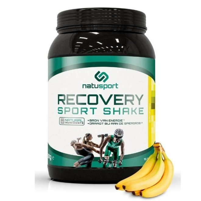 Recovery Sport Shake Banaan 750 GRAM