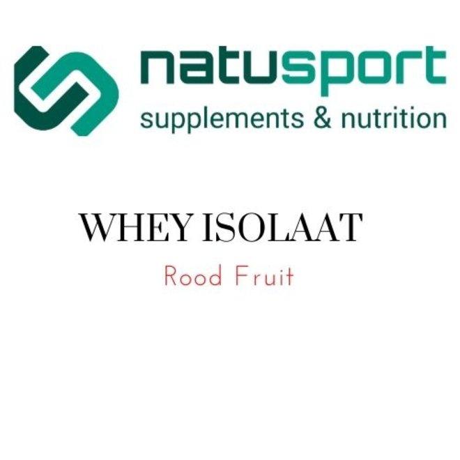 Whey Protein ISOLATE+ Aardbei 450 GRAM