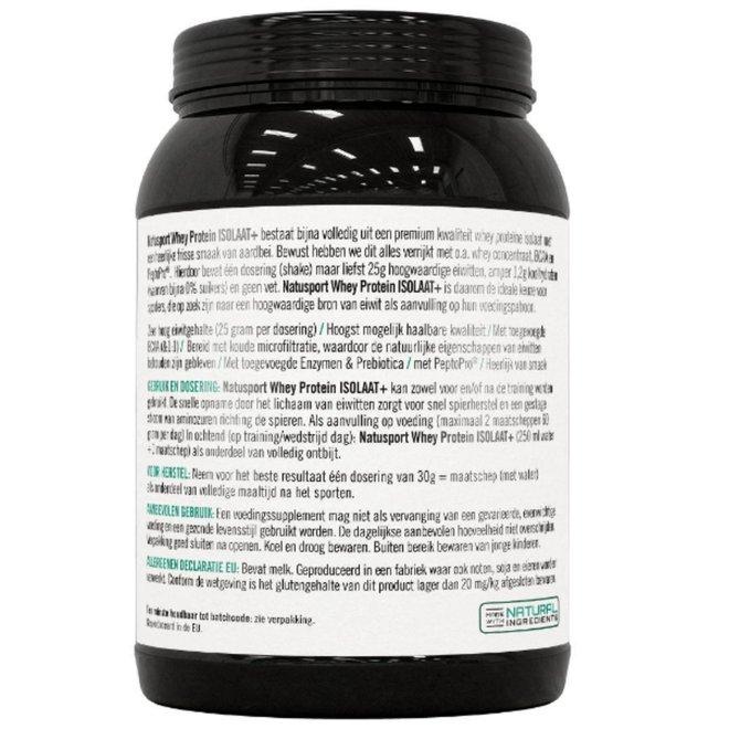 Whey Protein ISOLATE+ Vanille 450 GRAM
