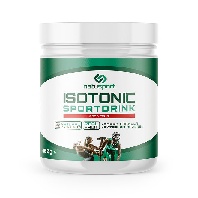 Isotonic Sportdrink Red Fruit