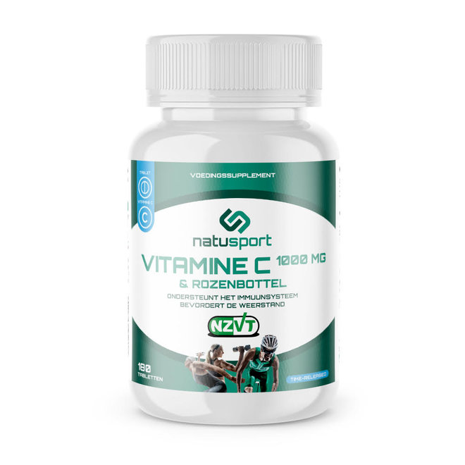 Vitamine C (1000mg) & Rozenbottel (180 capsules)