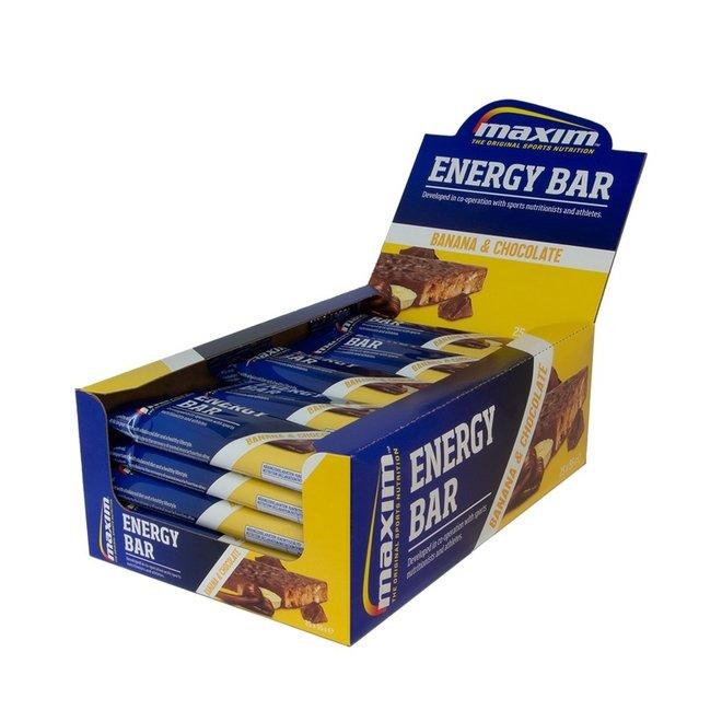 Maxim Energy Bar Banana, Chocolate coated
