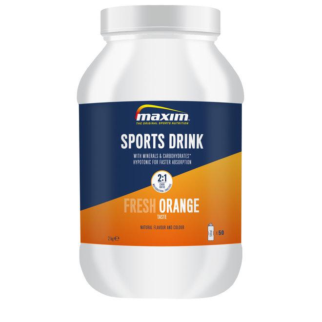 Maxim Sports Drink Fresh Orange 2kg