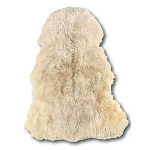 Dimehouse Schaffell gelockt Weiß - 100x70cm
