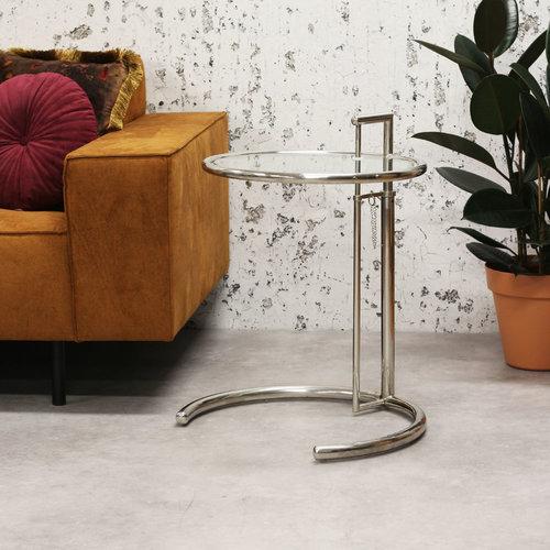 Taffy Beistelltisch Modern Metall Glas