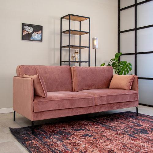 Peppin Sofa Industrial Rosa