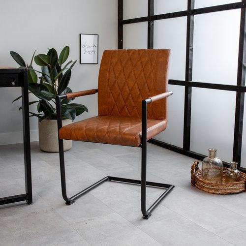 Esszimmerstühle mit Armlehne Industrial
