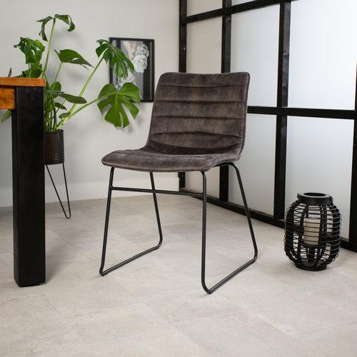 Esszimmerstühle ohne Armlehne Industrial