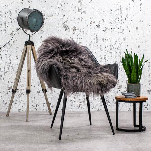 Schaffell Isländisch Grau - 90x60cm