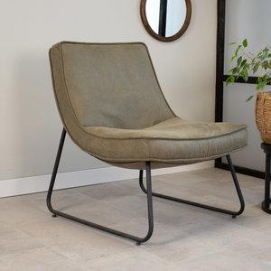 Lowen Sessel Industrial Eco-Leder Grün