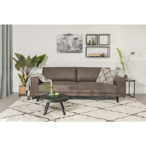 Mats Sofa Industrial Taupe 3-Sitzer