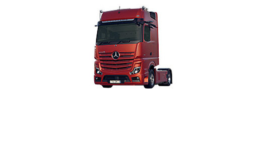 Mercedes Actros MP5 Parking Coolers