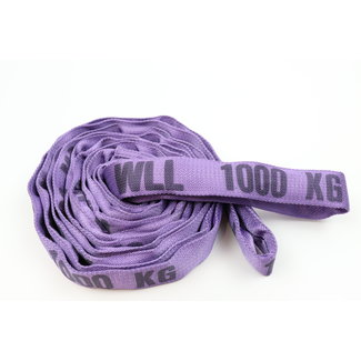 Roundsling DV-10 Purple WLL 1000kg with double cover
