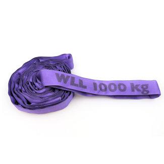 Rundschling ES-10 Lila WLL 1000 kg mit Einzelmantel
